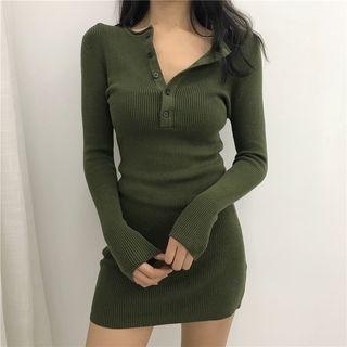 Rib Knit Dress 1064150079
