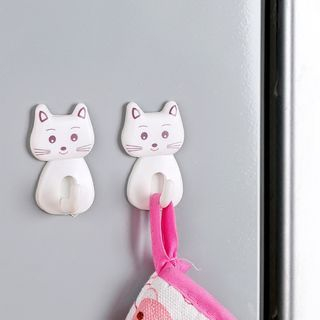 Set of 3: Cat Wall Hook 1056914432