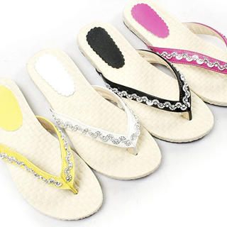 Buy KAWO Sequined Thong Sandals 1022917647