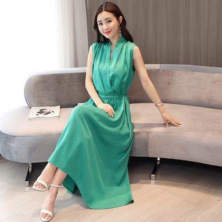 Romantica Sleeveless Plain Dress