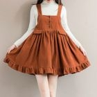 Ruffle Jumper Dress 1596
