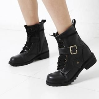 Picture of KENZI Lace-Up Boots 1023046164 (Boots, KENZI Shoes, Korea Shoes, Womens Shoes, Womens Boots)