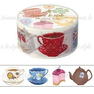 Image of Aimez le style Masking Tape Middle Tea Time