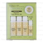 ORMONICA - Organic First Starter Kit: Cleansing Liquid 20ml + Facial Wash 20ml + Lotion Moist 20ml + Milk Lotion 10ml + Cream 6g 5 pcs 1596