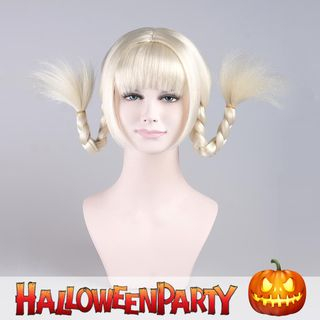 Halloween Party Wigs - Sweet Tails Platinum Blonde - One Size