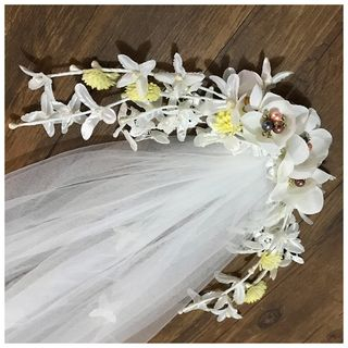 Flower Wedding Veil