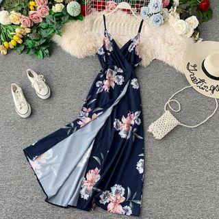 Spaghetti | Floral | Strap | Dress