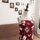 Floral Print Strappy Midi Dress 1596