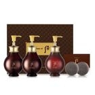The History of Whoo - WhooSpa Essence Hair Special Set: Shampoo 350ml + 350ml + Rinse 220ml + Cleansing Bar 25g x 2pcs 1596