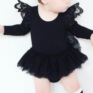 Baby Lace Trim Bodysuit