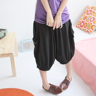 Buy eFashion Band-Hem Gaucho Pants 1022898383