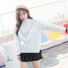 Fringe Trim Sweater 1596