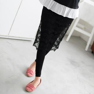 inset-lace-pencil-skirt-leggings