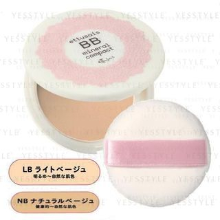 Image of ettusais - BB Mineral Compact SPF 25 PA++ - 2 Types