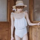 Frilled Swimsuit 1596