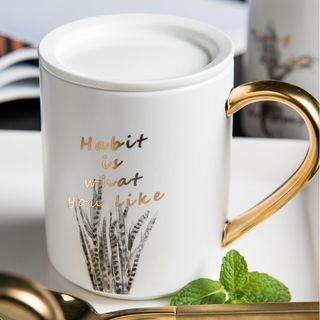 Printed Mug with Lid 1066843432