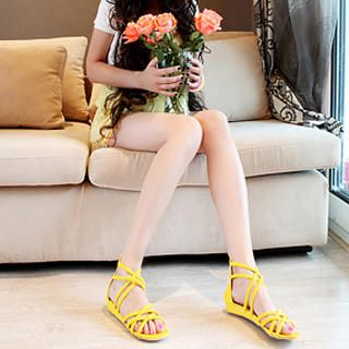 Buy KAWO Braided Cross-Trap Flat Sandals 1022910790