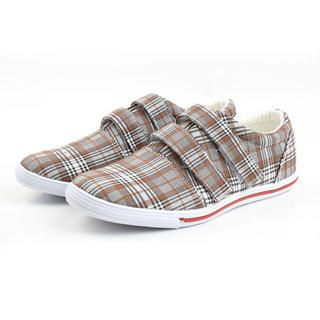 Picture of BSQT Checkered Print Sneakers 1023071210 (Sneakers, BSQT Shoes, Taiwan Shoes, Womens Shoes, Womens Sneakers)
