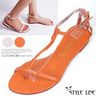 Buy STYLE LINE T-Strap Thong Sandals 1023003001
