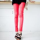 Pocket-Accent Skinny Pants 1596