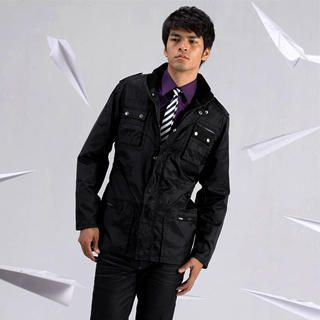 Picture of Justyle Belted Jacket 1021547574 (Justyle, Mens Jackets, China)