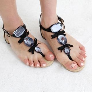 Buy Drama Beaded Sandals 1023032162