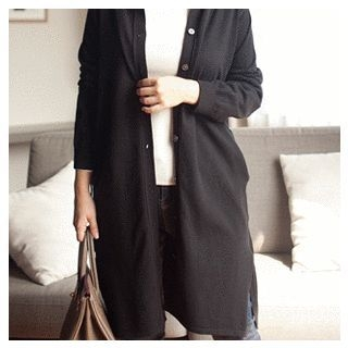 Patterned A-Line Knit Dress 1053643993