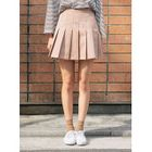 Pleated Mini Skirt 1596