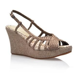 Buy Smoothie Braided Strappy Wedges 1022580639