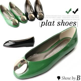 Buy Shoes by B Patent Flats 1022731782
