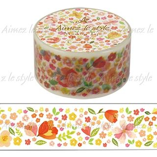 Image of Aimez le style Masking Tape Primaute Middle Casual Flower