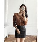 Flat-Front Pencil Skirt 1596