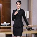 Blazer / Dress Pants / Pencil Mini Skirt / Shirt / Set 1596