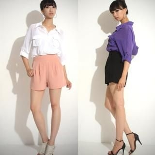 Picture of 782RUSH High-Waist Shorts 1023032945 (Womens Shorts, 782RUSH Pants, South Korea Pants)