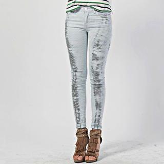 Pinstripe Skinny Pants