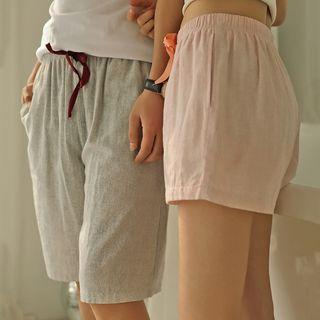 Image of Couple Matching Loungewear Shorts