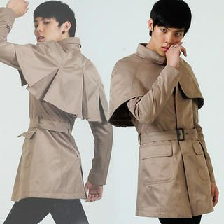 Picture of deepstyle Belted Coat 1021402223 (deepstyle, Mens Jackets, Korea)
