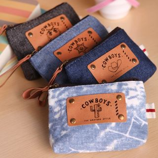 Image of Denim Coin Purse