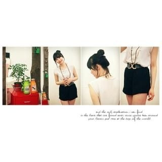 Picture of 8thday Layered Shorts 1022442326 (Womens Shorts, 8thday Pants, South Korea Pants)