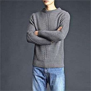 Ribbed Knit Sweater 1056398062
