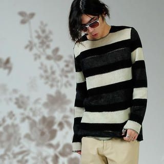 Picture of deepstyle Striped Knit Sweater 1021402856 (deepstyle, Mens Knits, Korea)