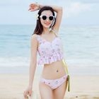 Set: Unicorn Print Bikini + Swimskirt 1596
