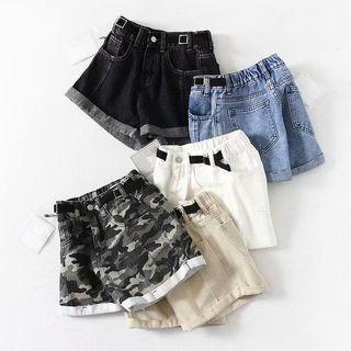 Camouflage | High-waist | Denim | Pant | Hot