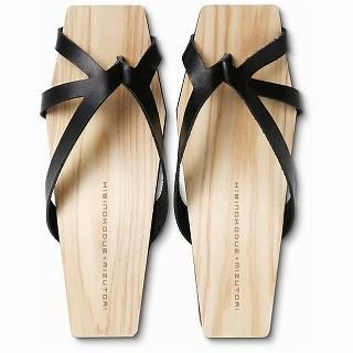 Picture of Mizutori Hibinokodue Wood Sandals 1019588126 (Sandals, Mizutori Shoes, Japan Shoes, Womens Shoes, Womens Sandals)