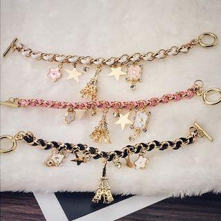 rhinestone-charm-bracelet