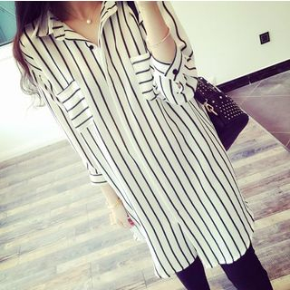 Striped Long Shirt 1058587230