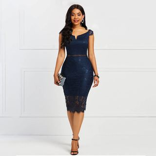 Image of Lace Bodycon Dress