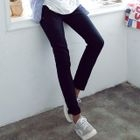 Cotton Straight-Leg Pants 1596