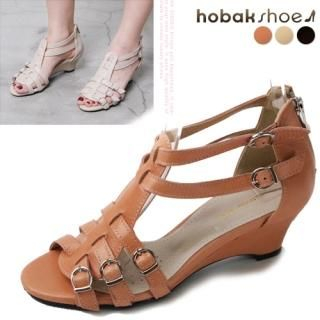 Buy HOBAK girls Genuine Leather Sandals 1022848453