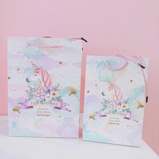 Unicorn   Print   Gift   Bag